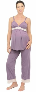 SOLD OUT Belabumbum Lotus Nursing & Maternity Babydoll Pajama Set