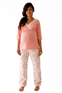 SOLD OUT Belabumbum Mei Maternity and Nursing Tunic Pajama Set
