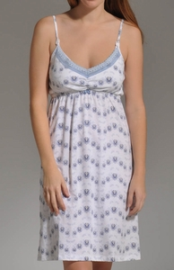 Belabumbum Morning Glory Maternity and Nursing Chemise Nightgown