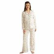 TEMPORARILY OUT OF STOCK Belabumbum Plume Classic Maternity Nursing Pajamas
