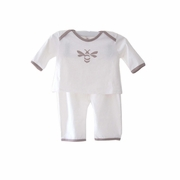 Belabumbum Queen Bee 2 Piece Baby Layette Set