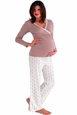 Belabumbum Queen Bee Tunic/Pant Maternity And Nursing Pajama Set