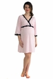Belabumbum Queen Of Hearts Maternity Nursing Kimono Nightdress