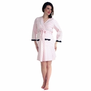 Belabumbum Queen Of Hearts Maternity Nursing Robe