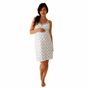 Belabumbum Violette Maternity And Nursing Chemise