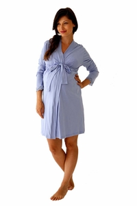 SOLD OUT Belabumbum Violette Maternity And Nursing Robe