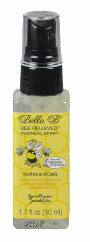 SOLD OUT Bella B Bee Relieved Perineal Spray - Trial Size