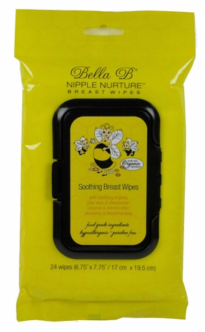 Bella B Nipple Nurture Breast Wipes - 24ct.