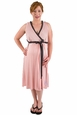 BG & Co Birthing Hospital Gown Nursing Night Gown - Blush