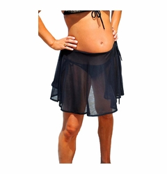 Bikini Mamas Teddy Mesh Convertible Tankini And Wrap