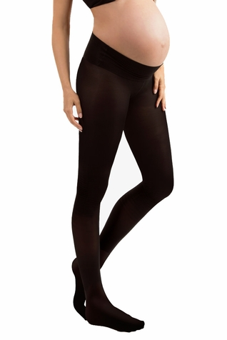 Blanqi 70 Denier Low Rise Belly Support Band Maternity Tights