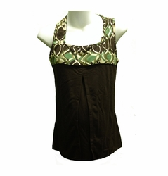 SOLD OUT Blissful Babes Racerback Athletic Maternity Nursing Tank - FINAL SALE