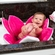 Blooming Bath Foldable Baby Bath - Pink