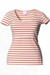 Boob Nursingwear Lois Striped Maternity And Nursing Top