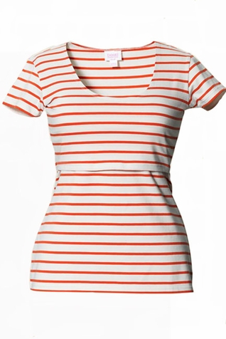 SOLD OUT Boob Nursingwear Lois Striped Maternity And Nursing Top