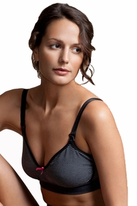 Boob Nursingwear Maternity And Nursing Fast Food Bra - Striped
