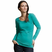 Boob Nursingwear Round Neck Long Sleeve Nursing Top