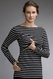 SOLD OUT Boob Simone Striped Maternity And Nursing Top Long Sleeve