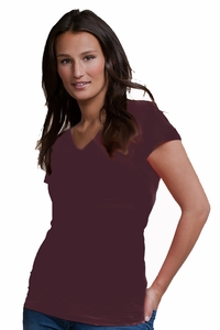 SOLD OUT Boob Nursingwear V Neck Short Sleeve Nursing Top