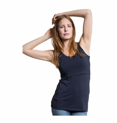 Boob Organic Cotton Maternity Nursing Singlet Tank Top
