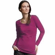 Boob Organic Cotton Round Neck Long Sleeve Nursing Top