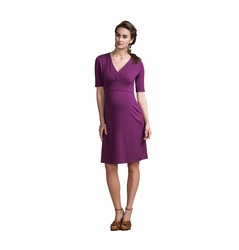 Boob Sophia Maternity Nursing Elbow Sleeve Dress