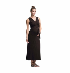 Boob Sophia Maternity Nursing Sleeveless Long Dress
