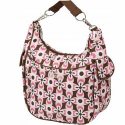 Bumble Bags Chloe Convertible Diaper Bag - Pink Geo
