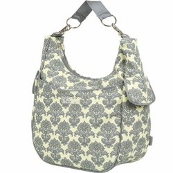 Bumble Bags Chloe Convertible Diaper Bag - Yellow Filagree
