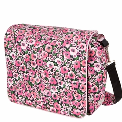 SOLD OUT Bumble Bags Jessica Messenger Diaper Bag - Peony Paradise