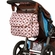 Bumble Bags Michelle Courier Diaper Bag - Pink Geo
