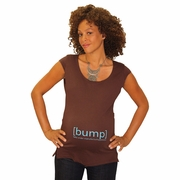 """[bump] """"baby under manufacturing process"""" Gender Reveal (Boy) Maternity Tee"""