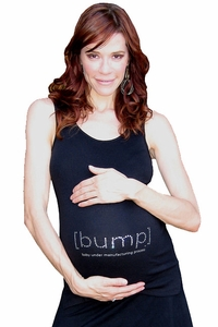 "SOLD OUT [bump] ""baby under manufacturing process"" Tank With Swarovski� Crystals"