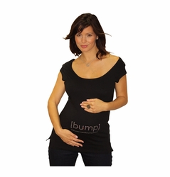 """[bump] """"baby under manufacturing process"""" Tee With Swarovski� Crystals"""
