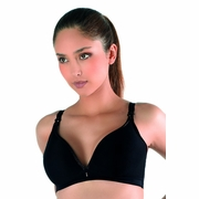 Cache Coeur 3D Light Plunge Maternity And Nursing Bra With Magnetic Clips