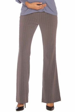 SOLD OUT Chiarakruza Stephanie Pinstripe Career Maternity Pants