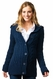 SOLD OUT Crave Chunky Cable Fisherman Cardigan Maternity Sweater