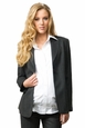 Crave City Button Front Maternity Jacket