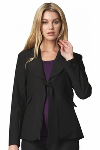 Crave Neo Career Tie Front Maternity Jacket