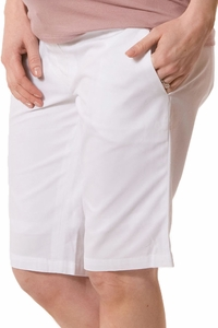Crave Preppy Maternity Tailored Walking Shorts