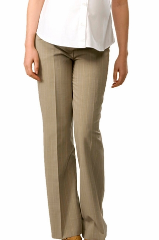 Crave Underbump Career Pinstripe Maternity Trousers