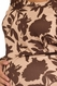 SOLD OUT Due Maternity Chocolate Floral Scoop Neck Maternity Top - FINAL SALE