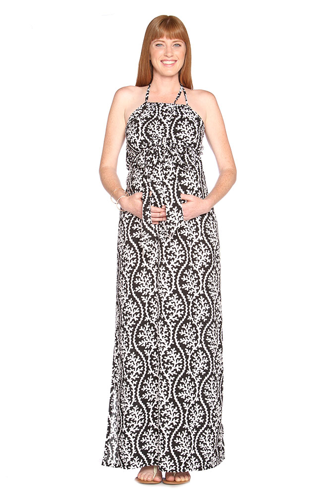 """Asos Maternity Maxi Dress Grecian Baby Pink 12 Wedding Party Light weight thin Floaty Stretchy fabric Excellent condition no faults Size 12 Pit to pit 16"""" Shoulder to hem 58"""" New pieces added daily, have a peep to see what else is in your size."""