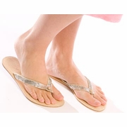 Eberjey Sequin Flip Flops-FINAL SALE