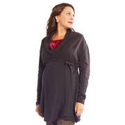 Egg Belted Maternity Cardigan Sweater