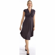 SOLD OUT Egg Front Tie Maternity Dress