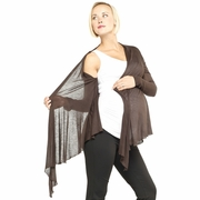 Egg Wool Gauze Maternity Jacket