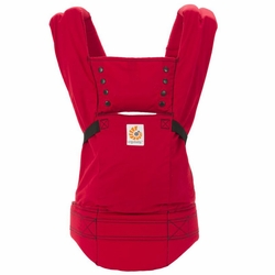 SOLD OUT Ergobaby Ergo Sport Baby Canvas Carrier - Red