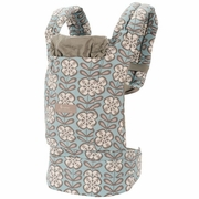 SOLD OUT Ergobaby Organic Designer Petunia Pickle Bottom Baby Carrier - Peaceful Portofino