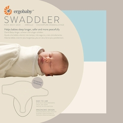 Ergobaby Terry Cotton Infant Swaddler - 2 Pack